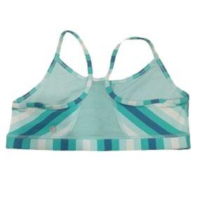 LULULEMON power y striped sports bra like …